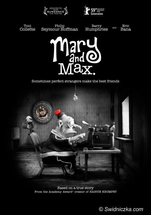 Świdnica: Biblioteka zaprasza na film– Mary&Max