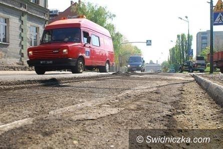 Świdnica: Remont drogi z dofinansowaniem z tzw. schetynówek