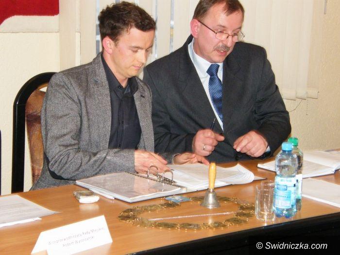 Świebodzice: Łukasz Kwadrans Przewodniczącym  Rady Miejskiej w Świebodzicach