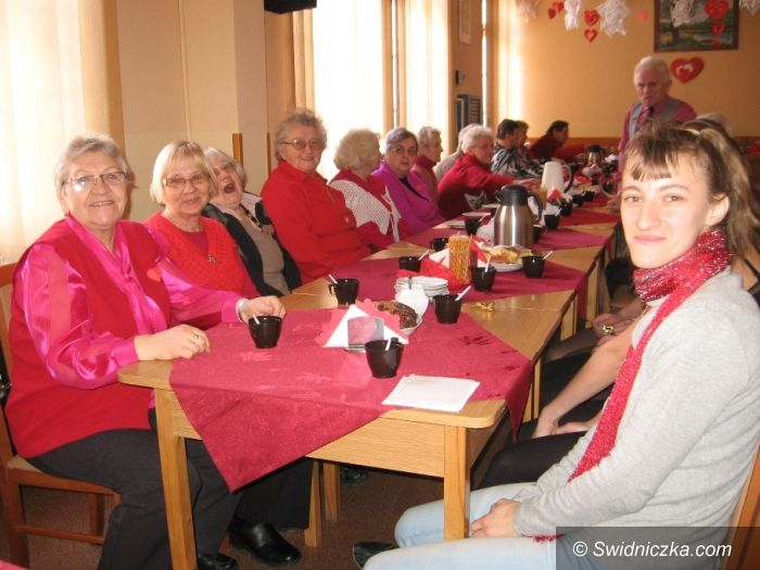 Świdnica: Biesiada Walentynkowa w Domu Dziennego Pobytu