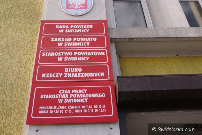 Świdnica: Sesja Rady Powiatu Świdnickiego