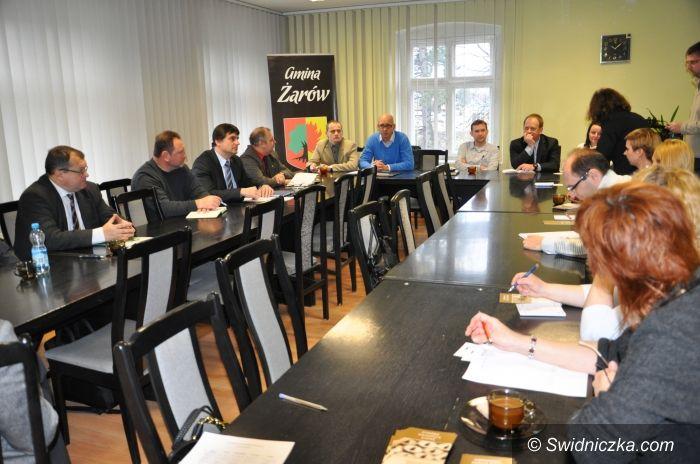 Żarów: Deklarują współpracę– spotkanie z przedsiębiorcami