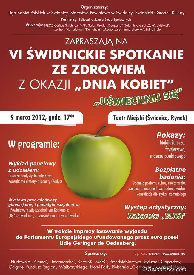 Świdnica: Spotkanie ze zdrowiem z okazji Dnia Kobiet