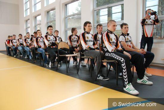 Świdnica: Otwarcie sali gimnastycznej w Zespole Szkół Ponadgimnazjalnych w Świdnicy.