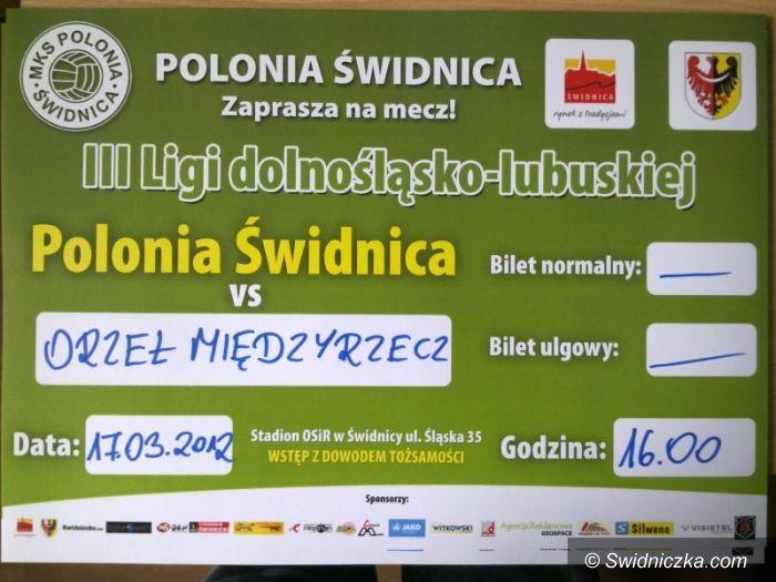 """III-liga piłkarska: Polonia wraca do gry, na początek """"ustrzelić"""" Orła"""