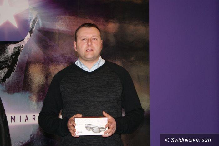 Świdnica: Wygrał telewizor 50 calowy w kinie Cinema3D