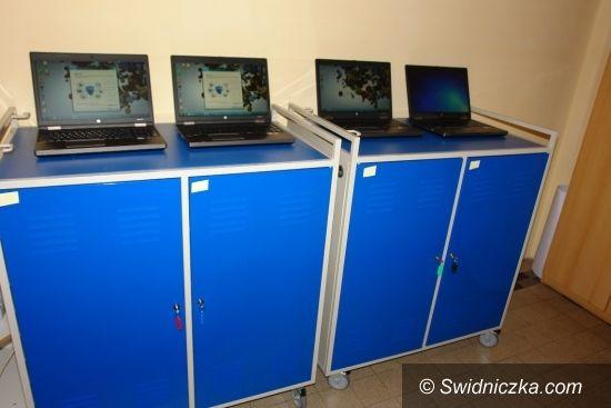 Strzegom: Nowoczesna pracownia komputerowa w strzegomskim liceum