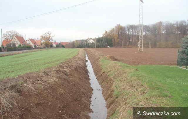 Gmina Dobromierz: Rowy oczyszczone