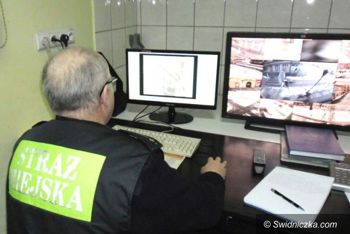 Świdnica: Ukradli monitory i części komputerowe, dostrzegło ich oko monitoringu