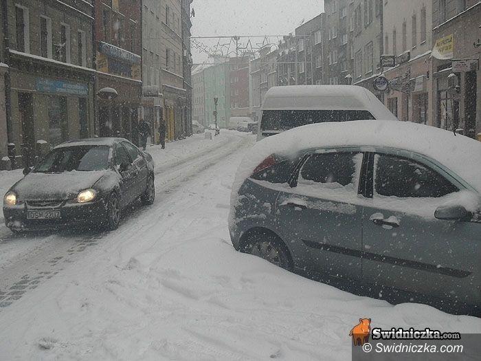 Świdnica: Zimowa aura – apel Policji