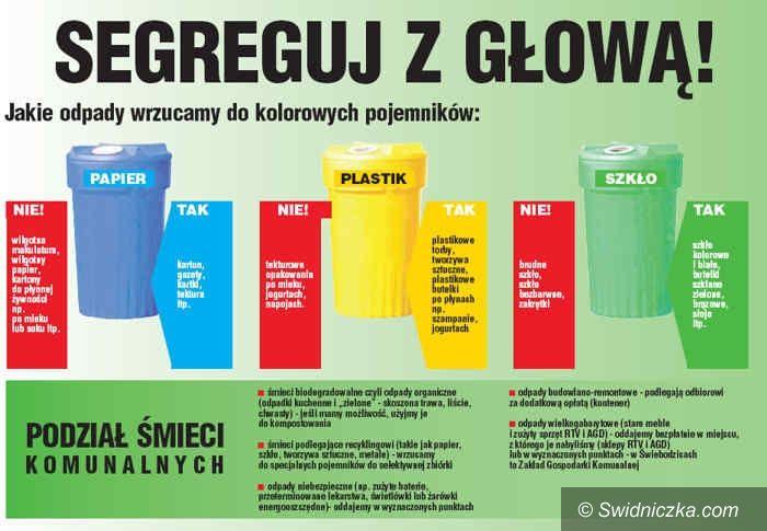Świebodzice: Stawki za śmieci przyjęte