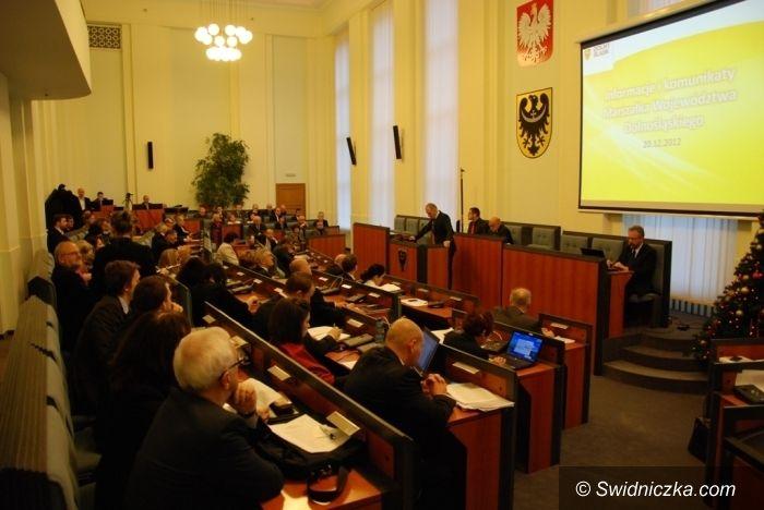 Dolny Śląsk: Budżet województwa uchwalony