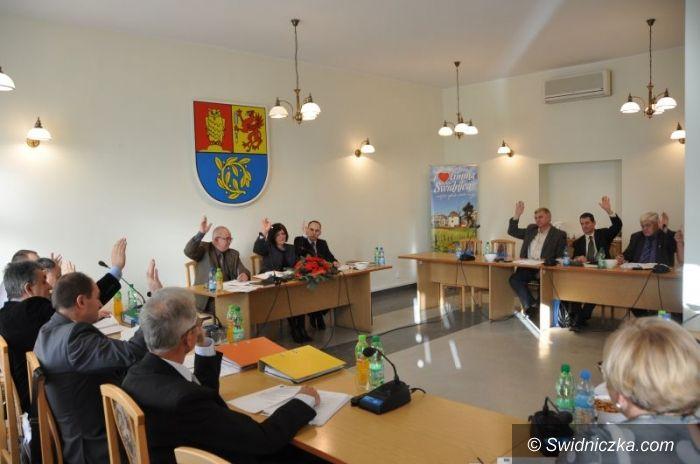 Gmina Świdnica: Jednomyślnie na tak – budżet 2013