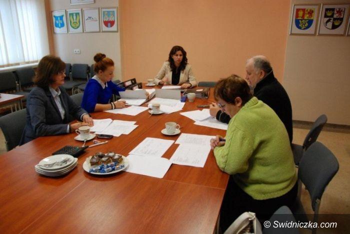 Świdnica: Posiedzenie komisji konkursowej