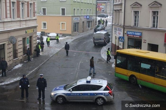 Wałbrzych: Bomba w centrum Wałbrzycha