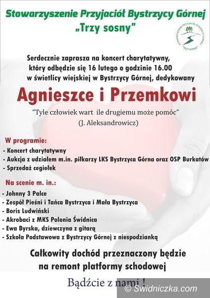 Bystrzyca Górna: Zagrają dla Agnieszki i Przemka