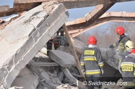 Wałbrzych: Dwie osoby mają zarzuty w związku z katastrofą budowlaną w Wałbrzychu