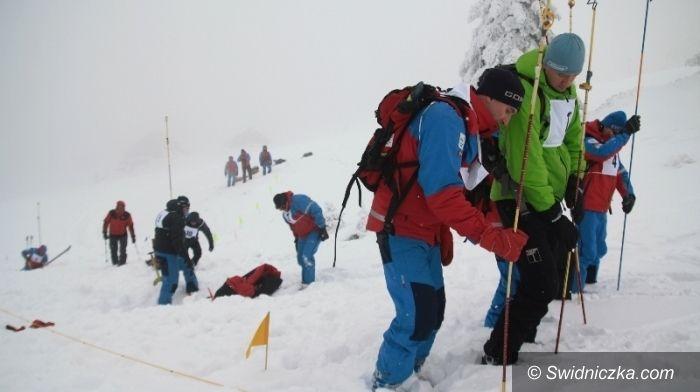 Śnieżnik: Szkolenie lawinowe GOPR na Śnieżniku
