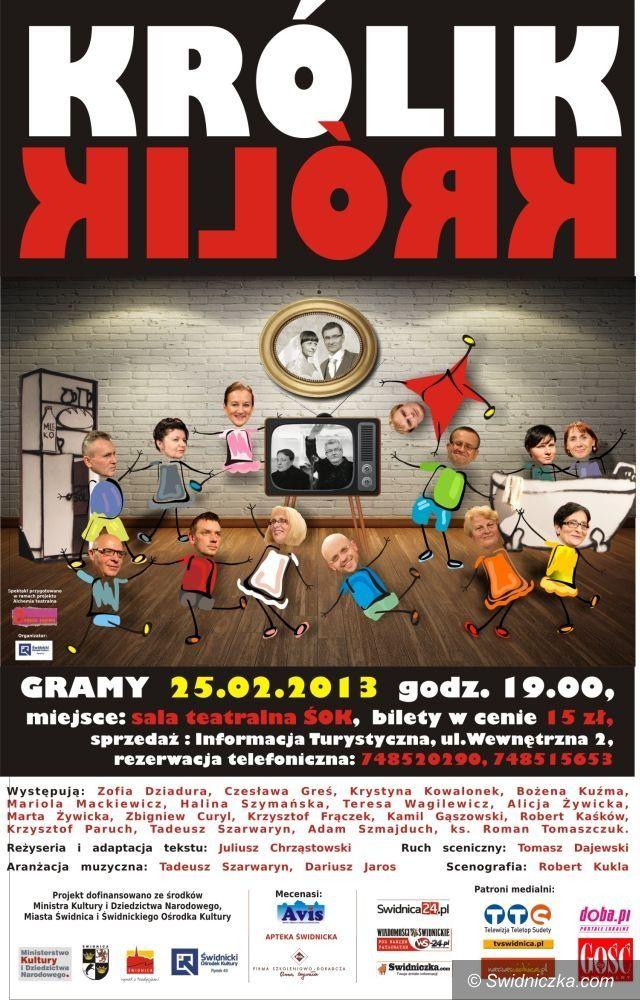 Świdnica: Lutowe imprezy Świdnickiego Ośrodka Kultury
