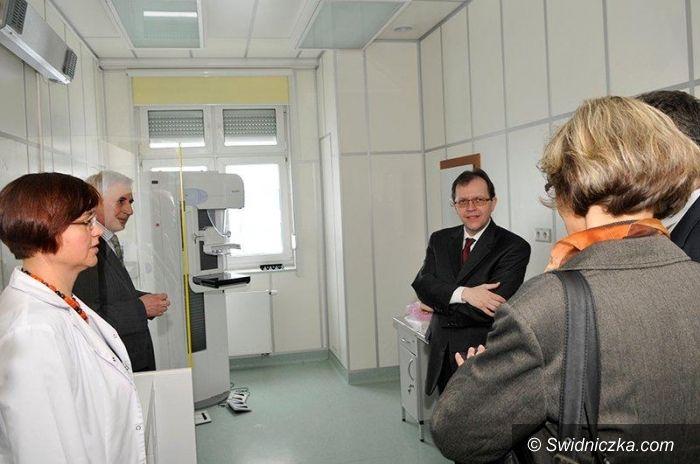 Świdnica: Wizyta gości z Bergstraße w Szpitalu Latawiec