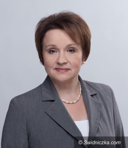 powiat świdnicki: List posłanki Anny Zalewskiej do starosty Zygmunta Worsy