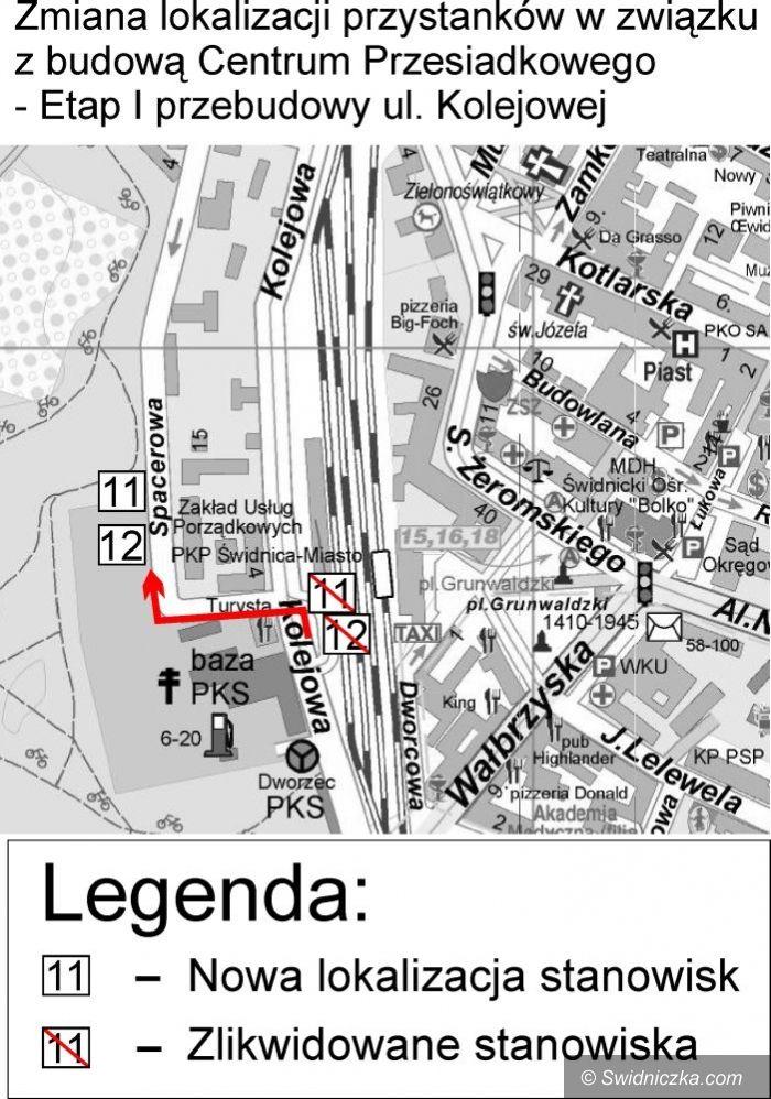Świdnica: Rusza budowa kolejnego etapu Centrum Przesiadkowego, przystanki zmienią lokalizację