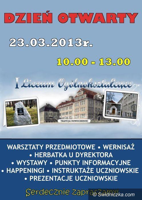Świdnica: Dzień Otwartych Drzwi w Kasprowiczu