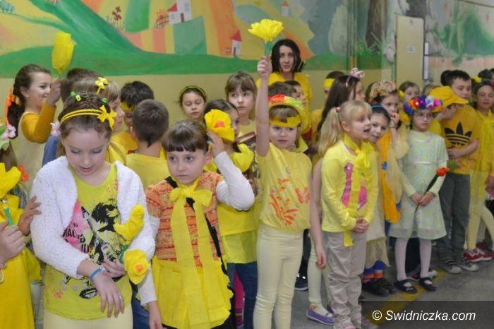 Świdnica: Pierwszy dzień wiosny w SP 4
