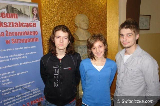 Strzegom: Strzegomscy licealiści jadą do Parlamentu Europejskiego