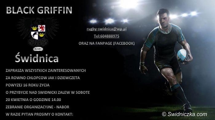 Świdnica: W Świdnicy powstaje drużyna rugby