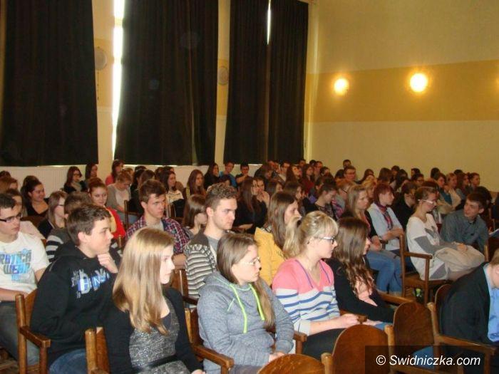 Świdnica: Lokalny ekorozwój a przestrzeń naszego miasta – debata w II LO