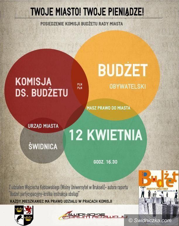 Świdnica: Konferencja i dyskusja o budżecie obywatelskim