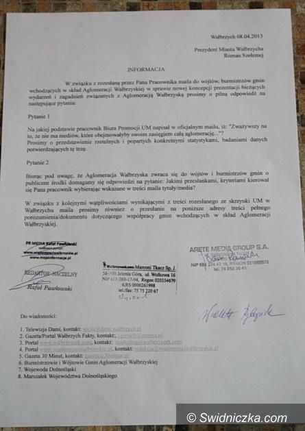 Wałbrzych: Urząd Miasta odpowiada na wątpliwości wałbrzyskich mediów