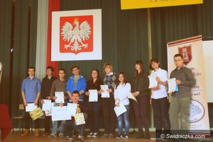 Świdnica: IV Powiatowy Konkurs Matematyczny w II LO