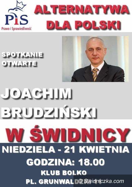 Świdnica: Joachim Brudziński odwiedzi Świdnicę