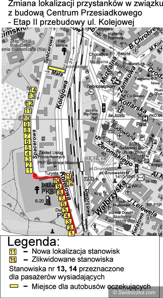 Świdnica: Ulica Kolejowa do przebudowy – zmiana organizacji ruchu