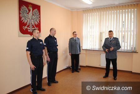 powiat świdnicki: Wyróżnienie dla policjantów z powiatu świdnickiego