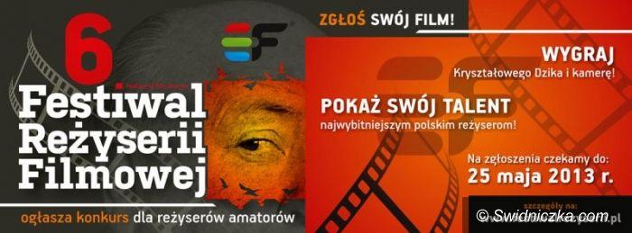 Świdnica: 6. Festiwal Reżyserii Filmowej w Świdnicy z nagrodami i konkursami