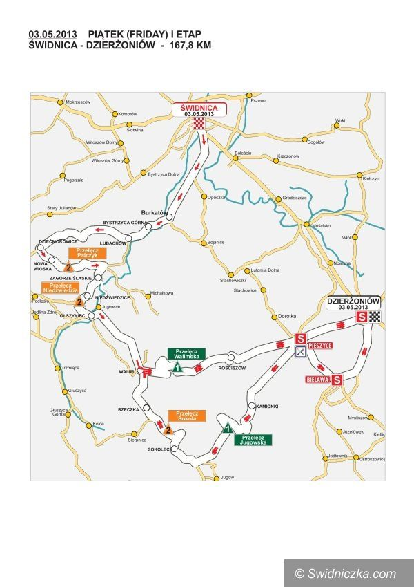 Świdnica: Wyścig kolarski wystartuje w Świdnicy