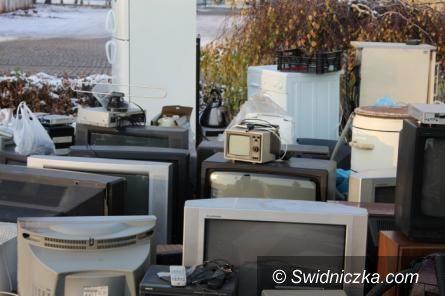 Świebodzice: Udana zbiórka elektrośmieci