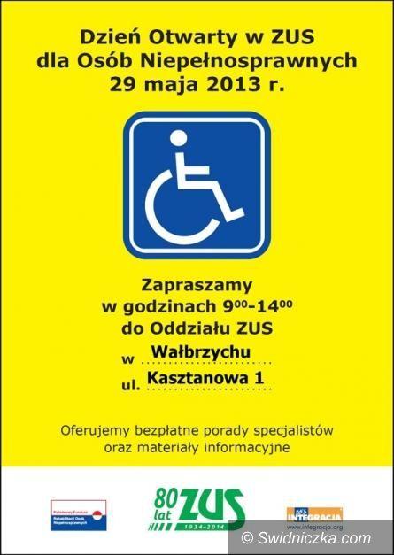 Region: Dzień Otwarty w ZUS dla Osób Niepełnosprawnych