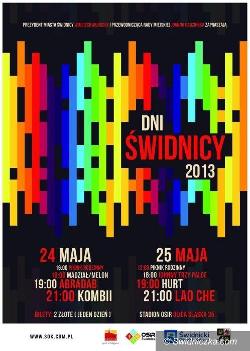 Świdnica: Nadchodzą Dni Świdnicy 2013