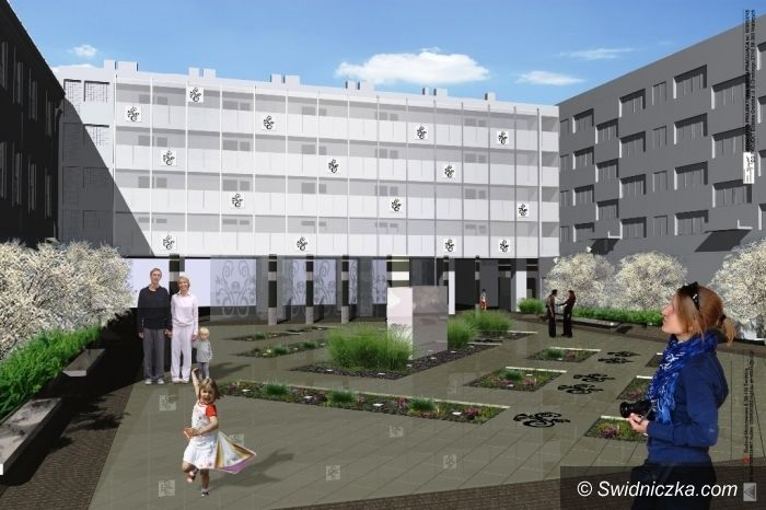 Świdnica: Budowa skweru przy ul. Franciszkańskiej na finiszu