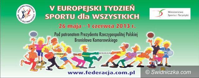 Gmina Świdnica: Tydzień na sportowo w gminie Strzegom