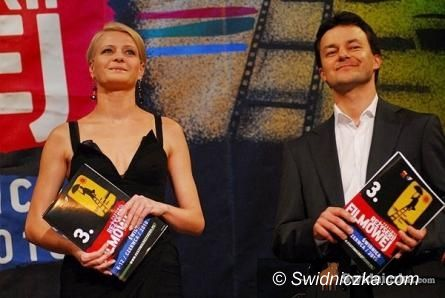 Świdnica: Małgorzata Kożuchowska promuje 6. Festiwal Reżyserii Filmowej