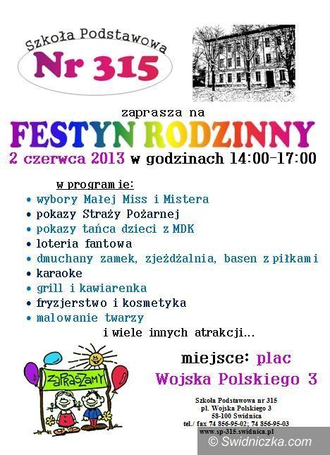 Świdnica: Festyn rodzinny w SP 315