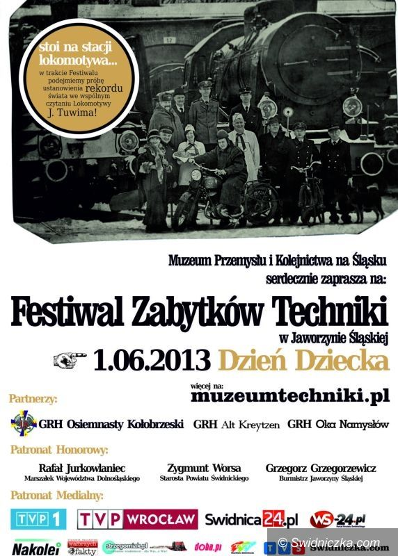 Jaworzyna Śląska: Festiwal Zabytków Techniki pod Parą