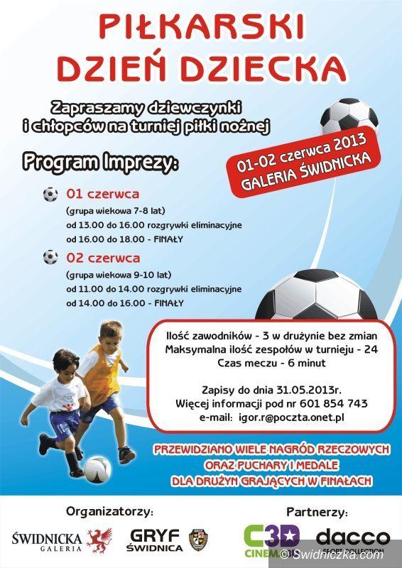 Świdnica: Piłkarski Dzień Dziecka