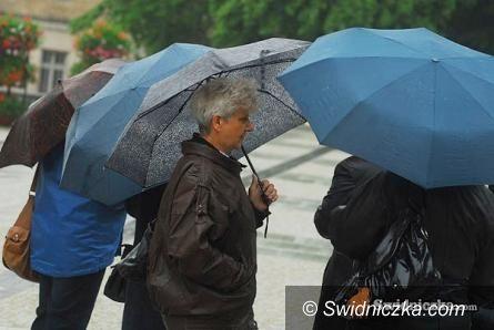 Dolny Śląsk: Uwaga! Intensywne opady deszczu!