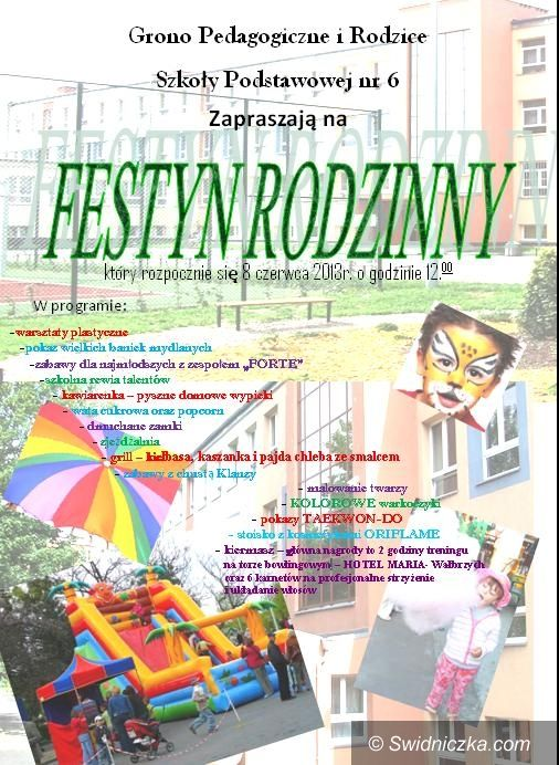 Świdnica: Liczne atrakcje podczas Festynu Rodzinnego w SP 6